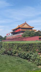 Outside of Forbidden City
